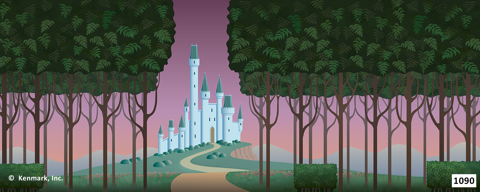 ED1090 Cinderella Forest with Castle 20x50