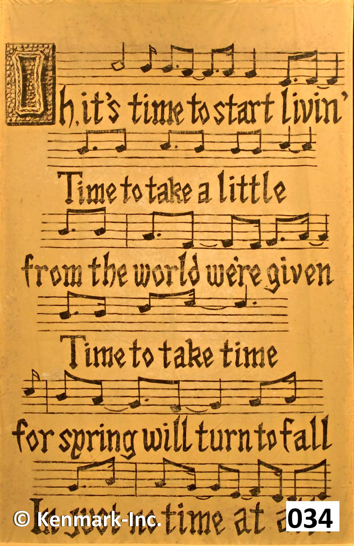 D034 Pippin Sheet Music