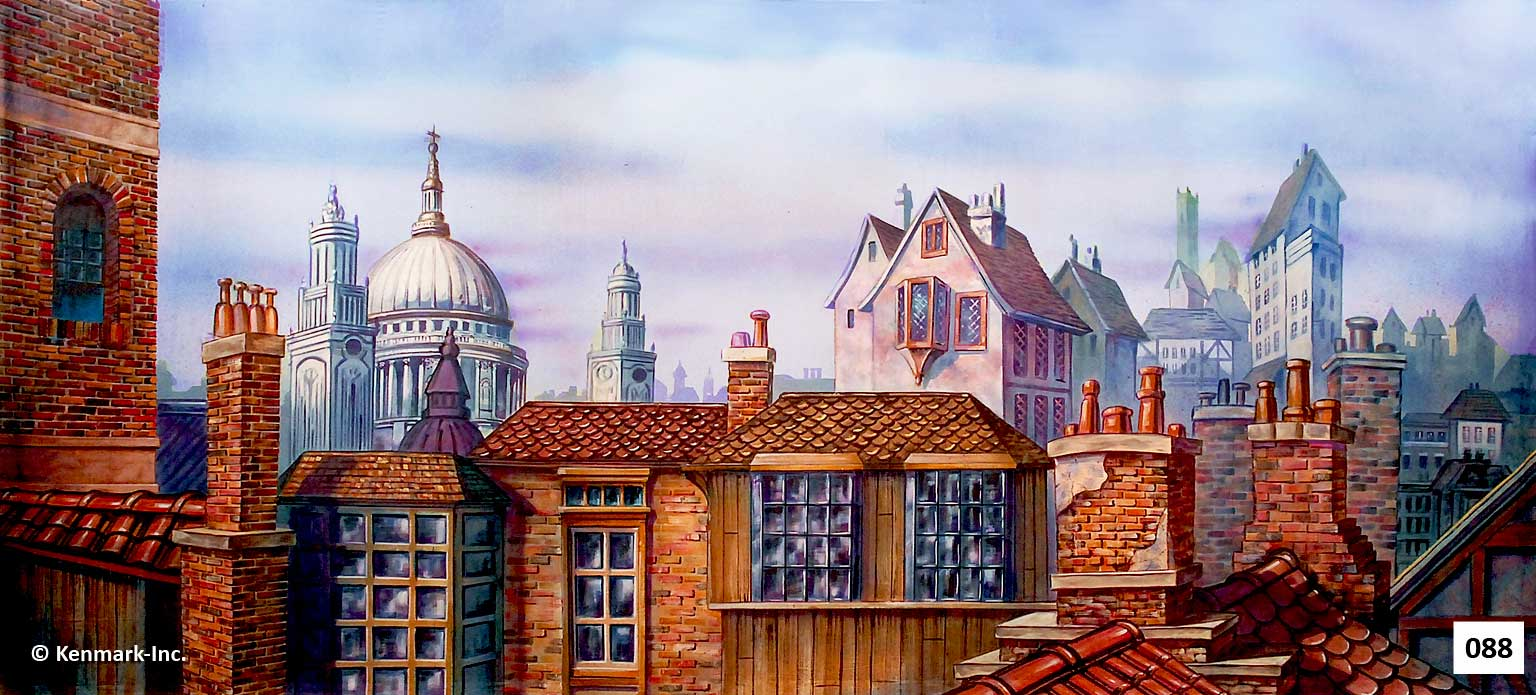 130 Old English Rooftops