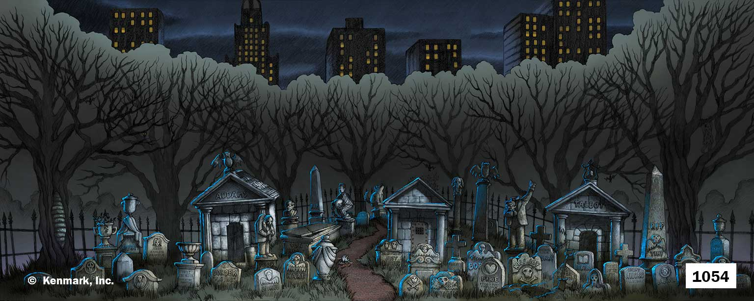Ed1054 Addams Family Cemetery