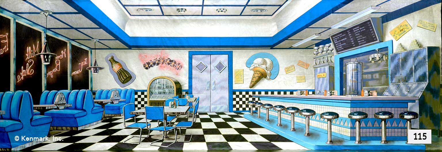 153 Soda Shop Interior