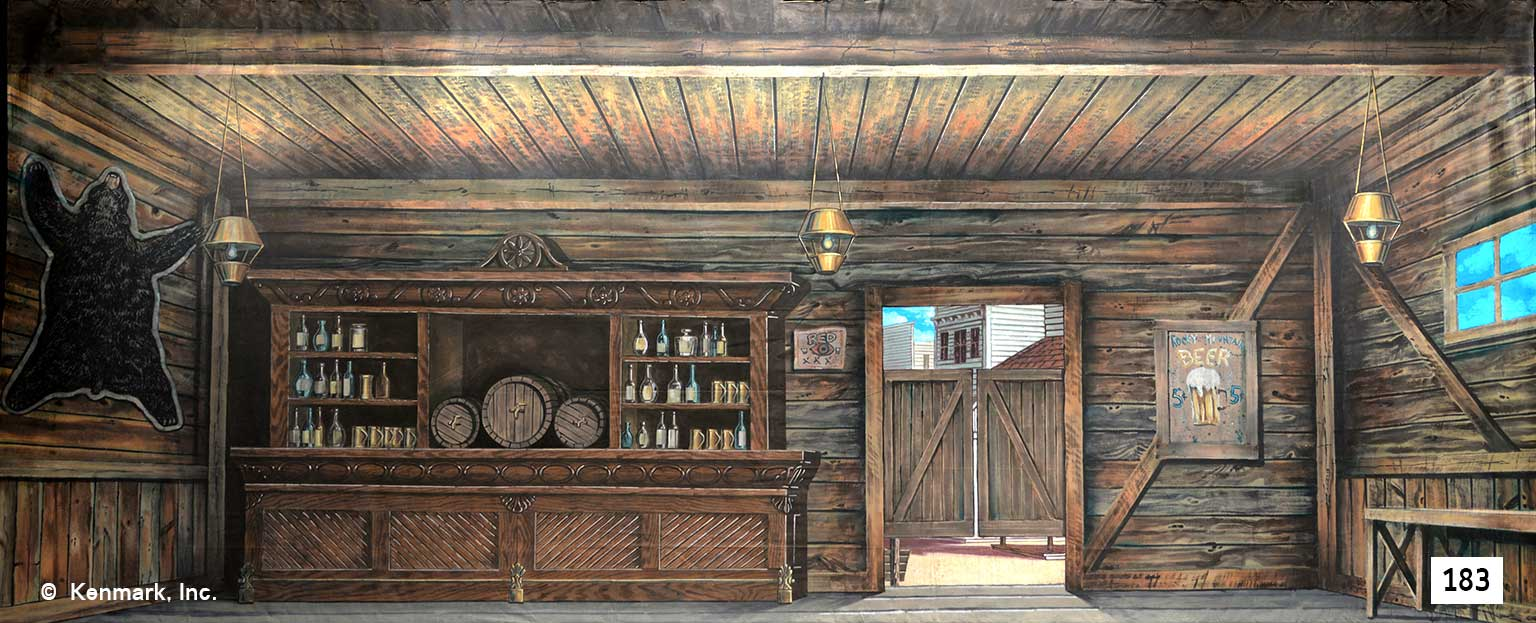 217 Rustic Saloon Interior
