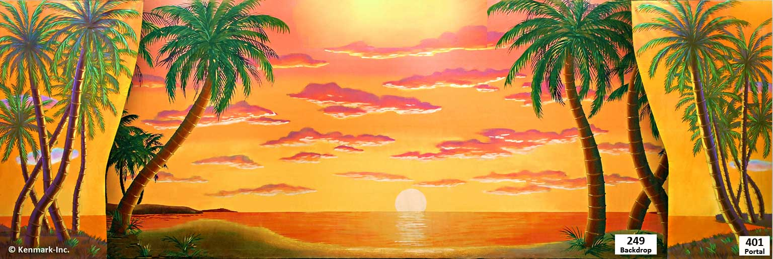 D249 Hawaiian Sunset