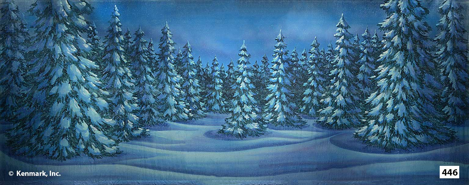 454 Snow Forest
