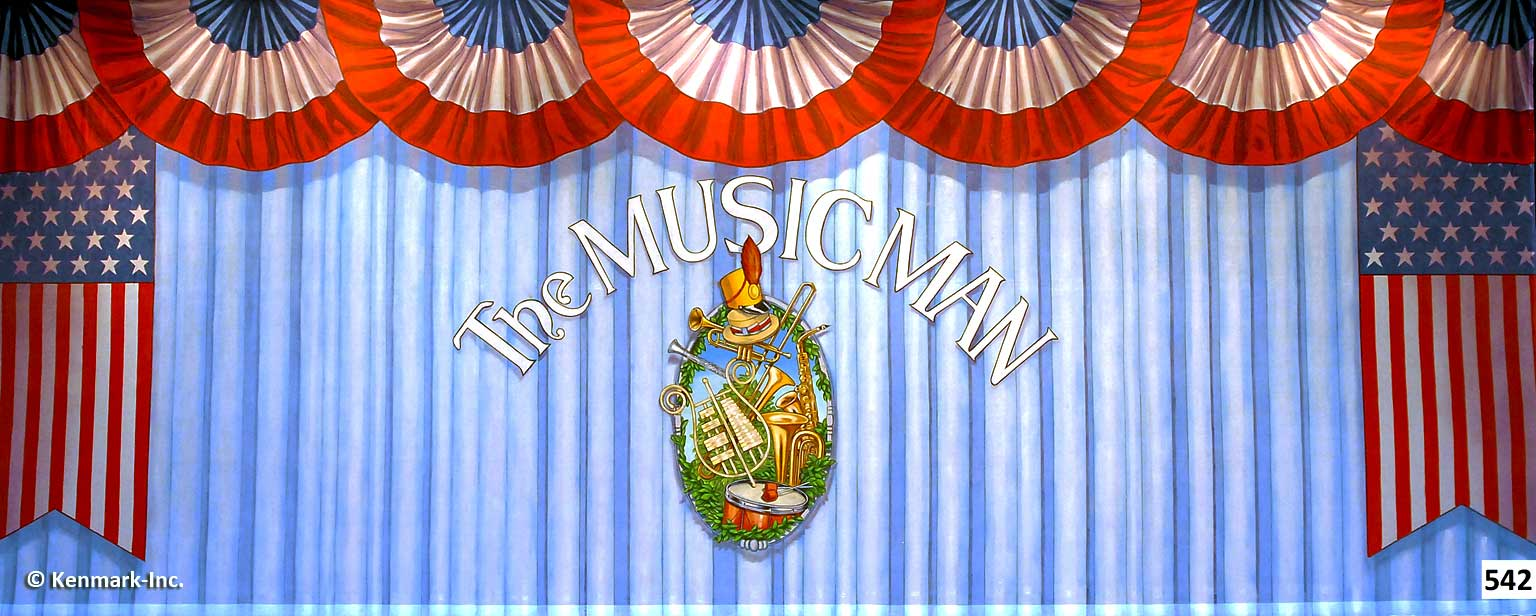ED542 Music Man Act Curtain