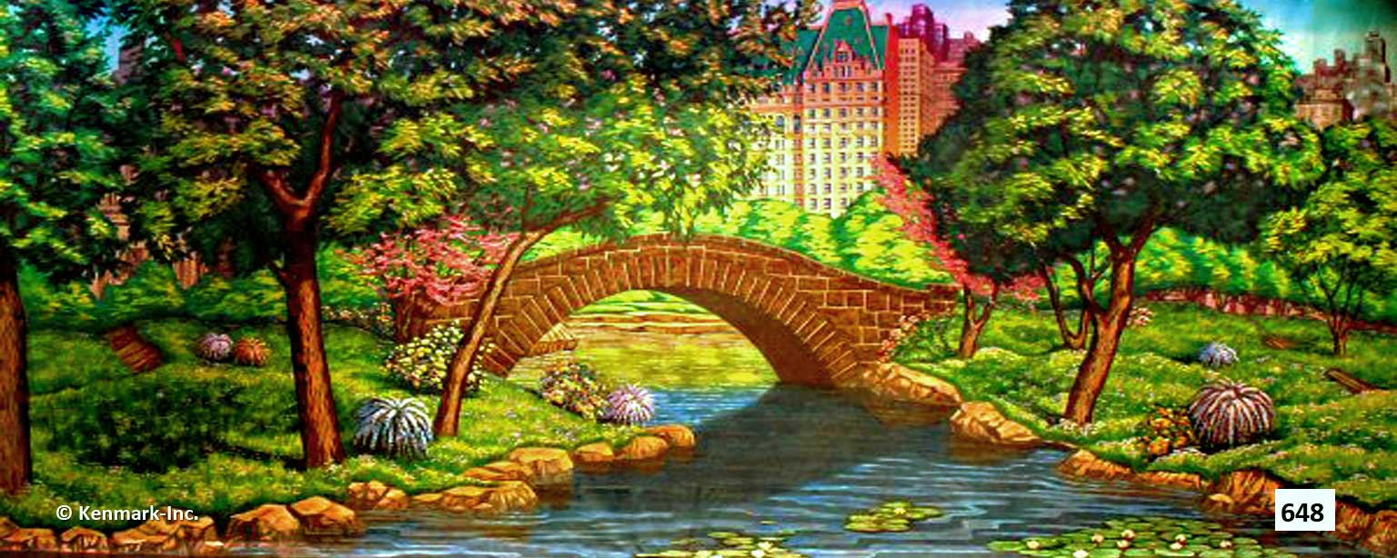 1409 Park with Bridge