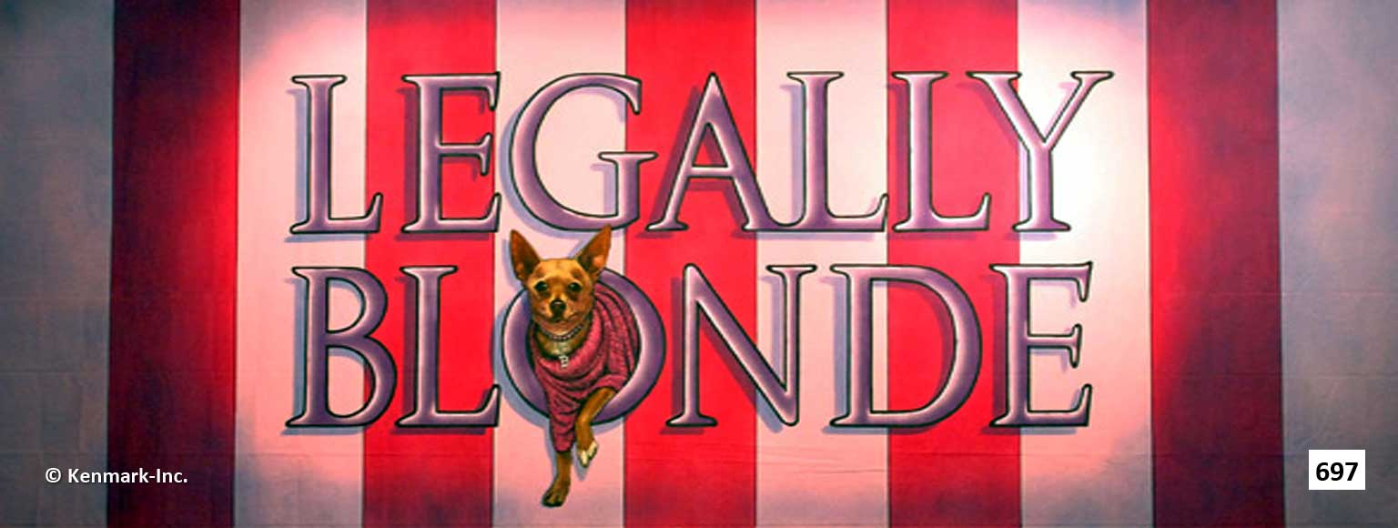 ED697 Legally Blonde Act Curtain