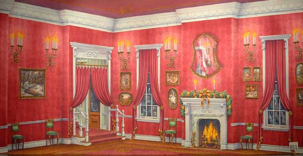 1475 Red Victorian Living Room