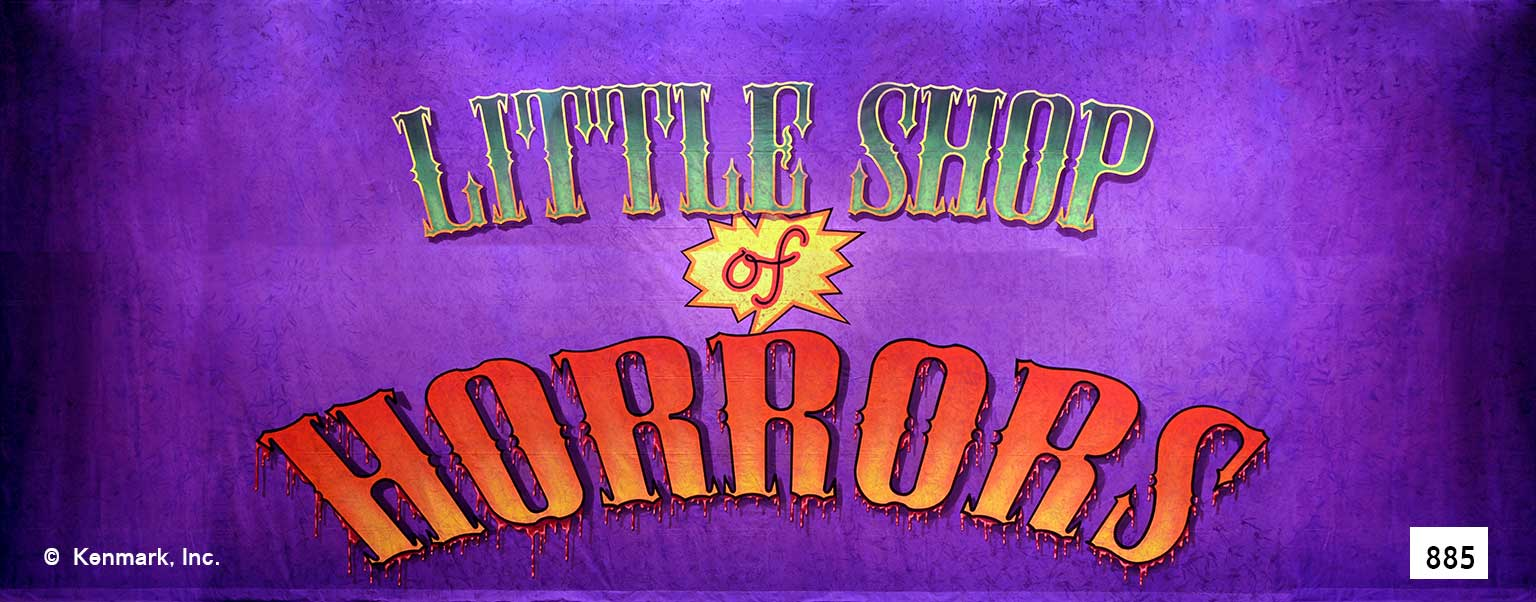 ED885 Little Shop of Horrors Act Curtain