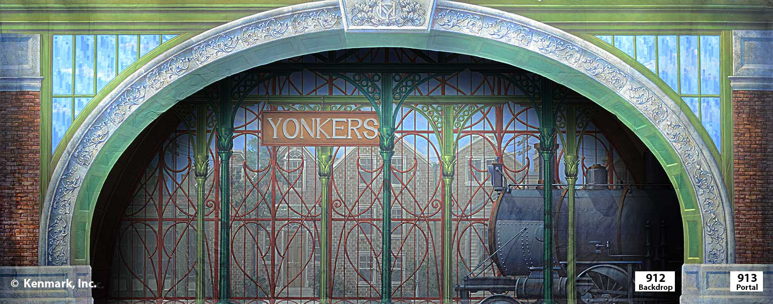 ED913 Yonker's Station PORTAL with ED912