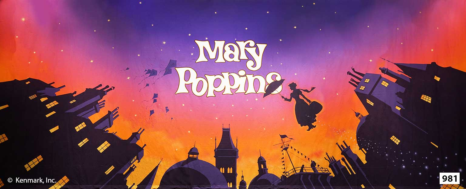 1511 Mary Poppins Act Curtain